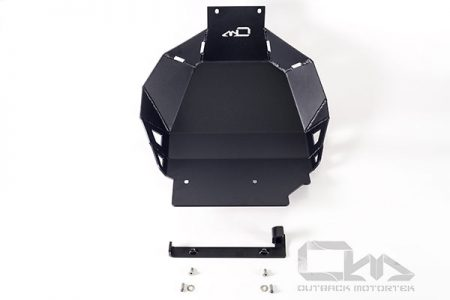 Honda Africa Twin 1000 skid plate off-road damage protection