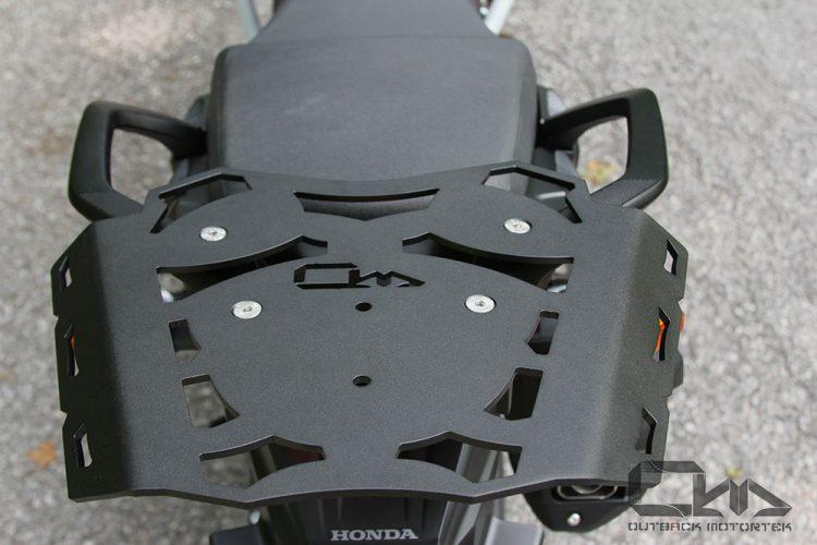 Honda Africa Twin 1000 rear luggage rack