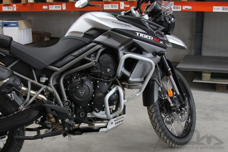Triumph Tiger 800 Crash Bars by Outback Motortek