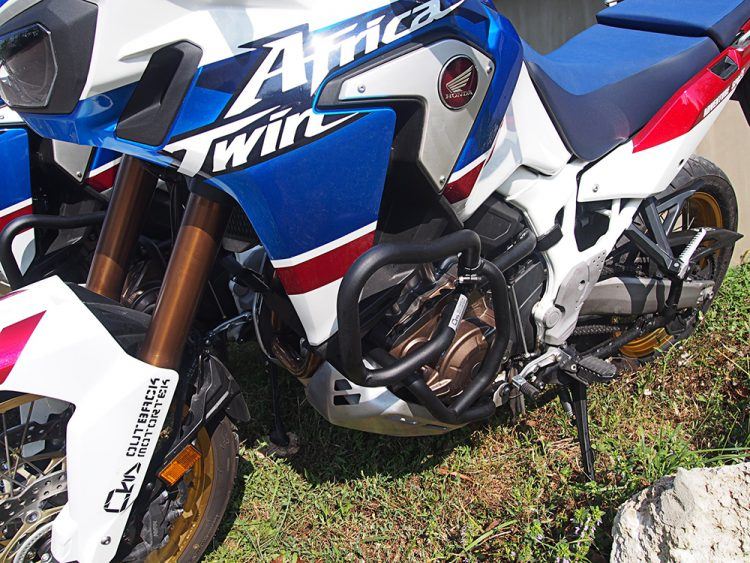 Adventure Sports Africa Twin engine guards