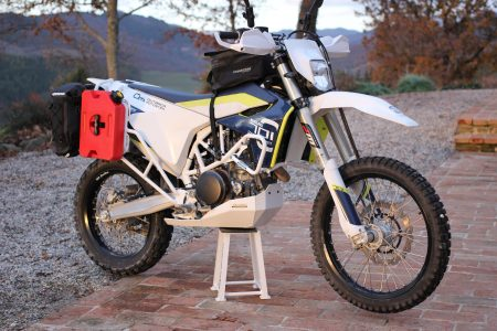 Husqvarna 701 crash bars