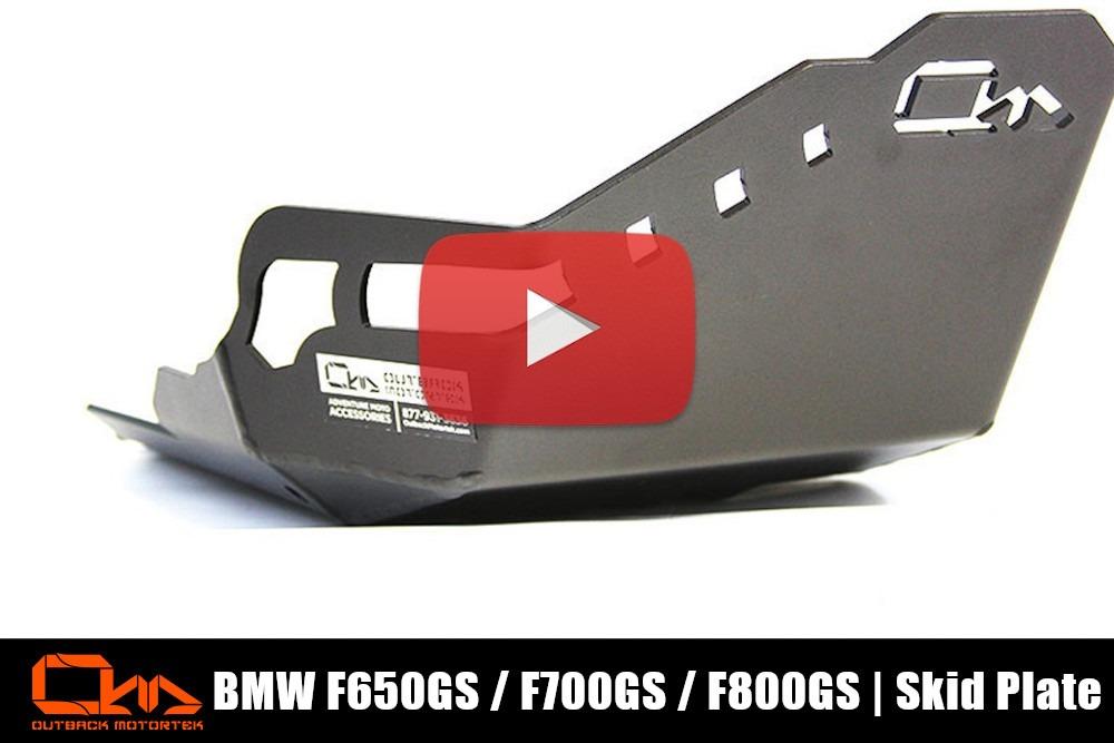 BMW 650/700/800GS Skid Plate Installation