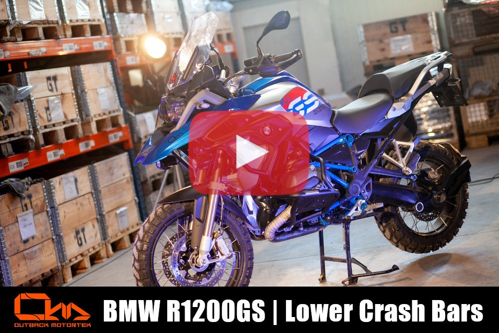 BMW R1200GS Lower Crash Bars