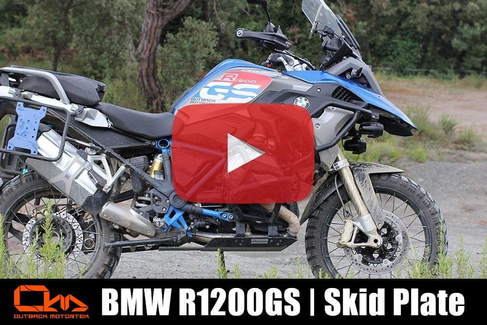 BMW R1200GS Skid Plate Installation