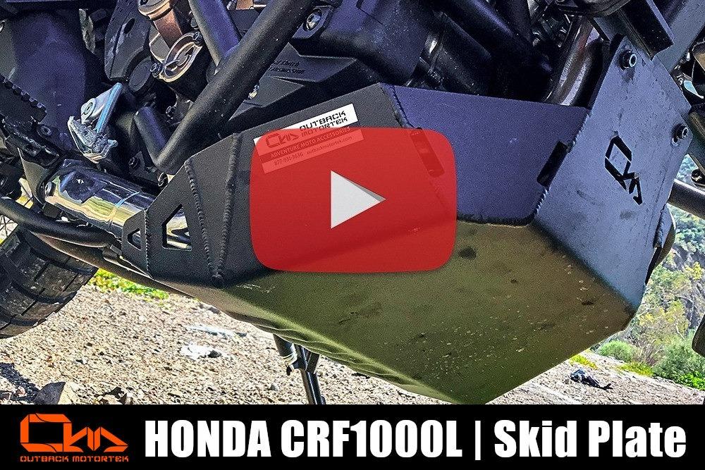 Honda CRF1000L Skid Plate Installation