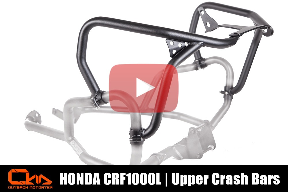 Honda CRF1000L Upper Crash Bars Installation