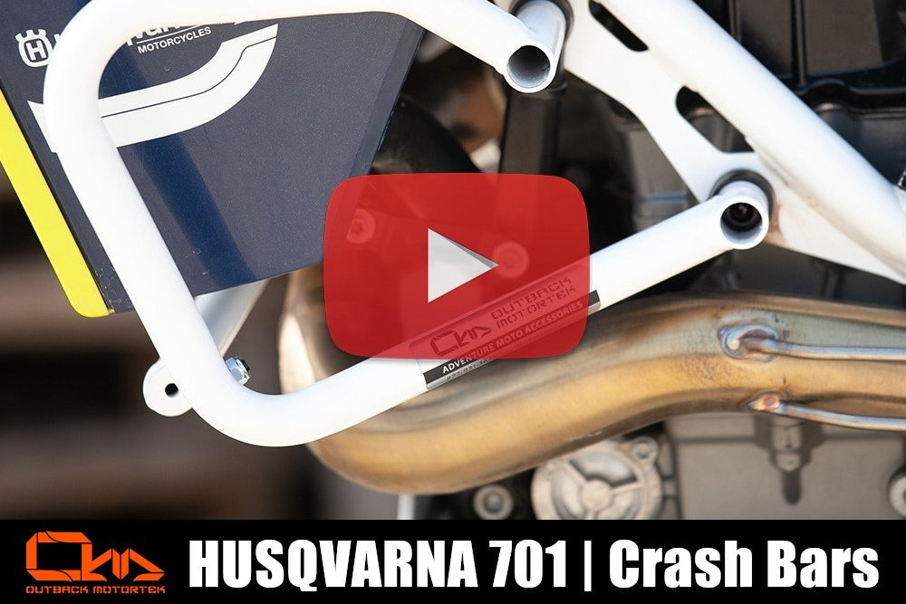 Husqvarna 701 Enduro Crash Bars Installation
