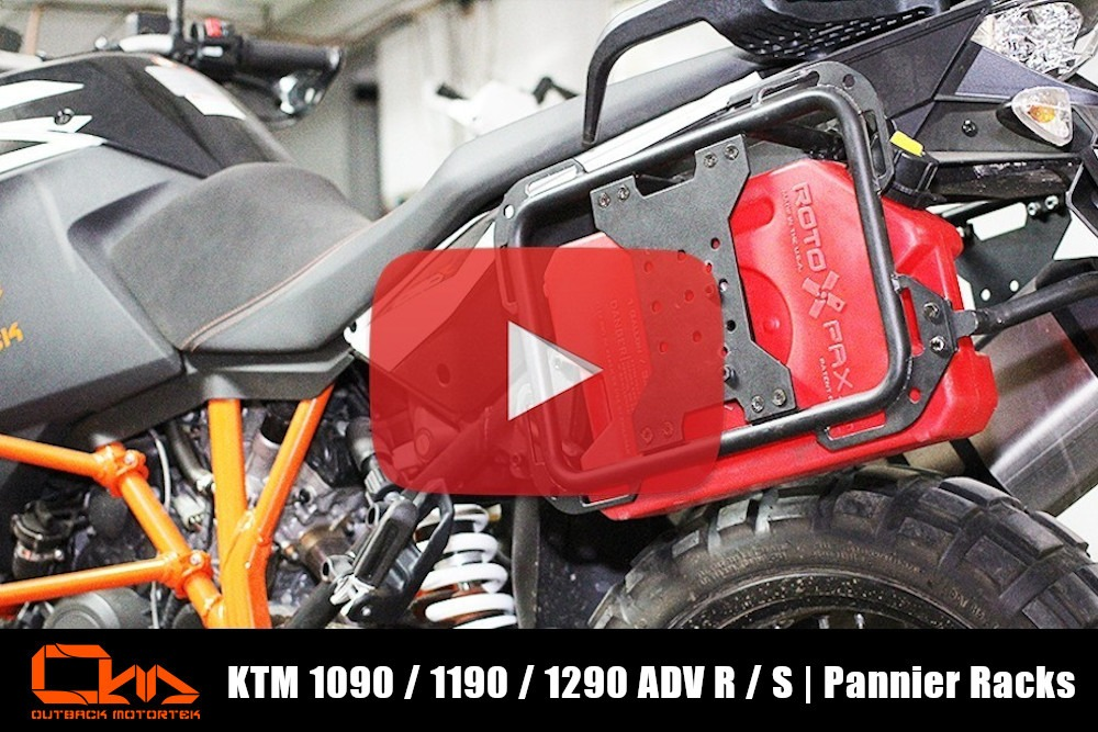 KTM 1090 / 1190 / 1290 Adventure R / S Pannier Racks Installation