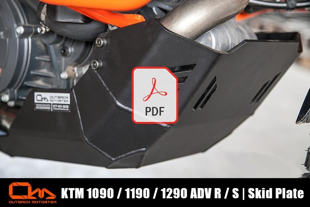 KTM 1090 / 1190 / 1290 Adventure R / S Skid Plate Installation