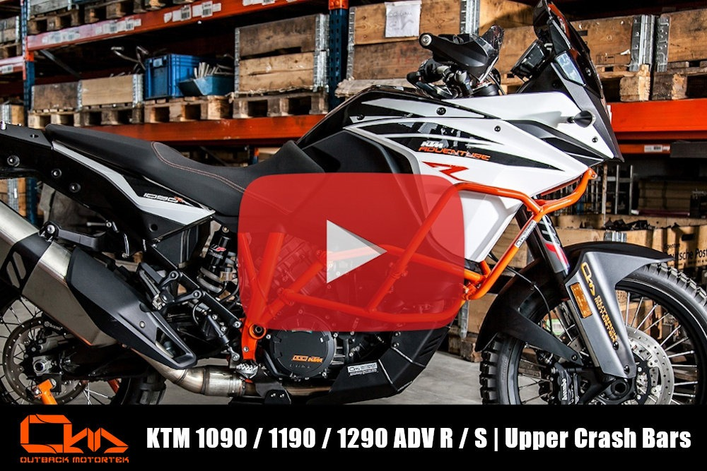 KTM 1090 / 1190 / 1290 Adventure R / S Upper Crash Bars Installation