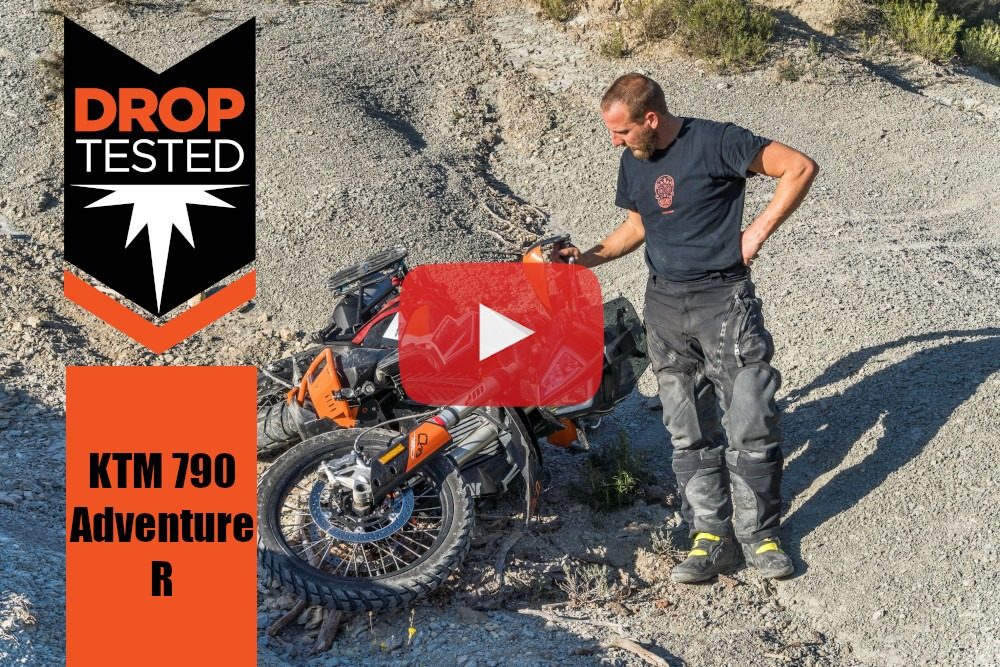 KTM 790 Adventure R Tested Crash Bars