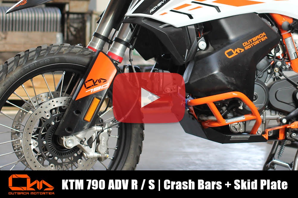 KTM 790 Adventure R / S Protection Combo Installation