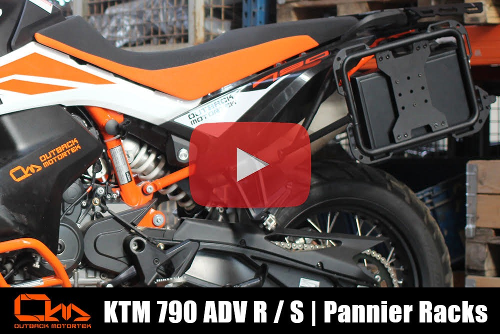 KTM 790 Adventure R / S Pannier Racks Installation