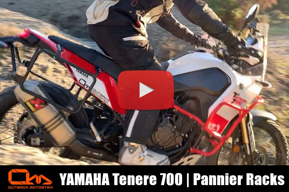 Yamaha Tenere 700 Pannier Racks Installation Video