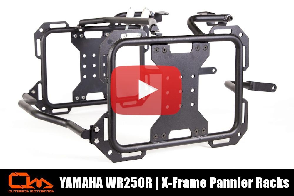Yamaha WR250R X-Frames Installation