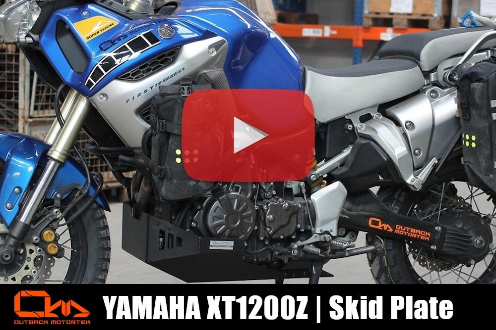 Yamaha XT1200Z Super Tenere Skid Plate Installation