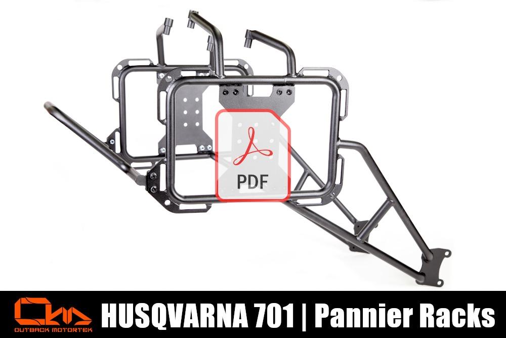 Husqvarna 701 Pannier Racks PDF Installation