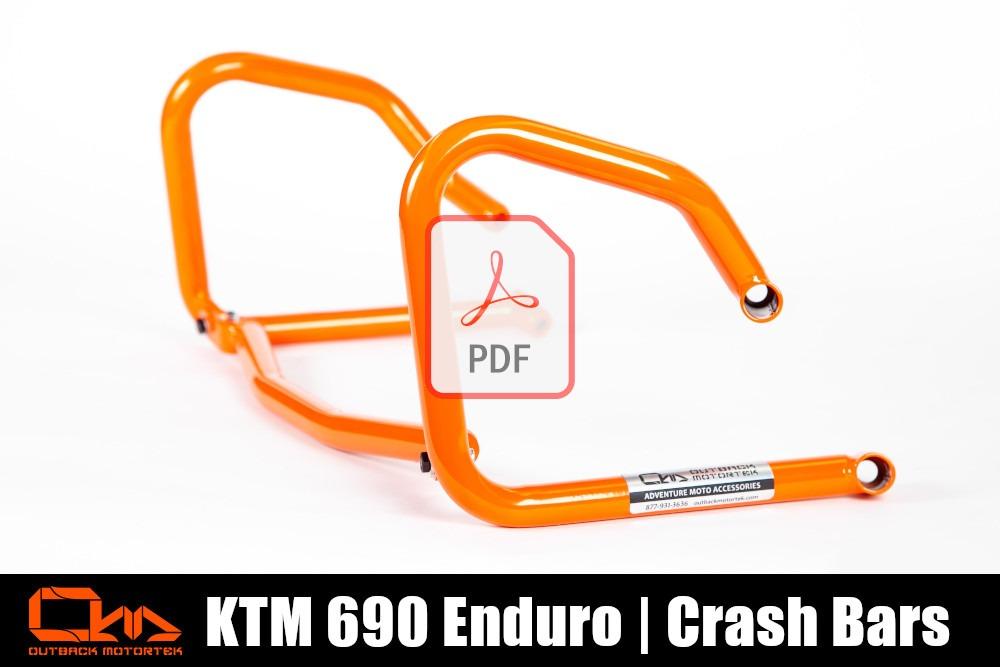 KTM 690 Enduro R Crash Bars PDF Installation
