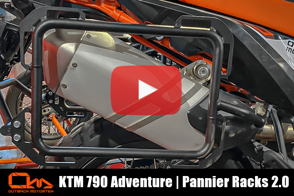 KTM 790 Adventure R / S Pannier Racks 2.0 Installation