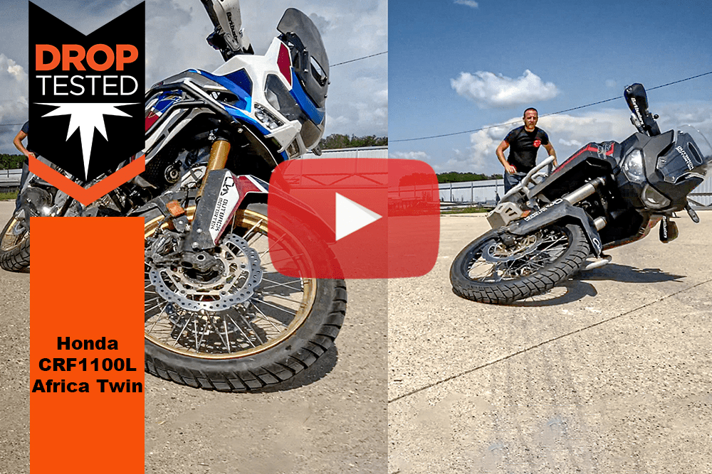 CRF1100 Africa Twin Drop Tested Crash Bars