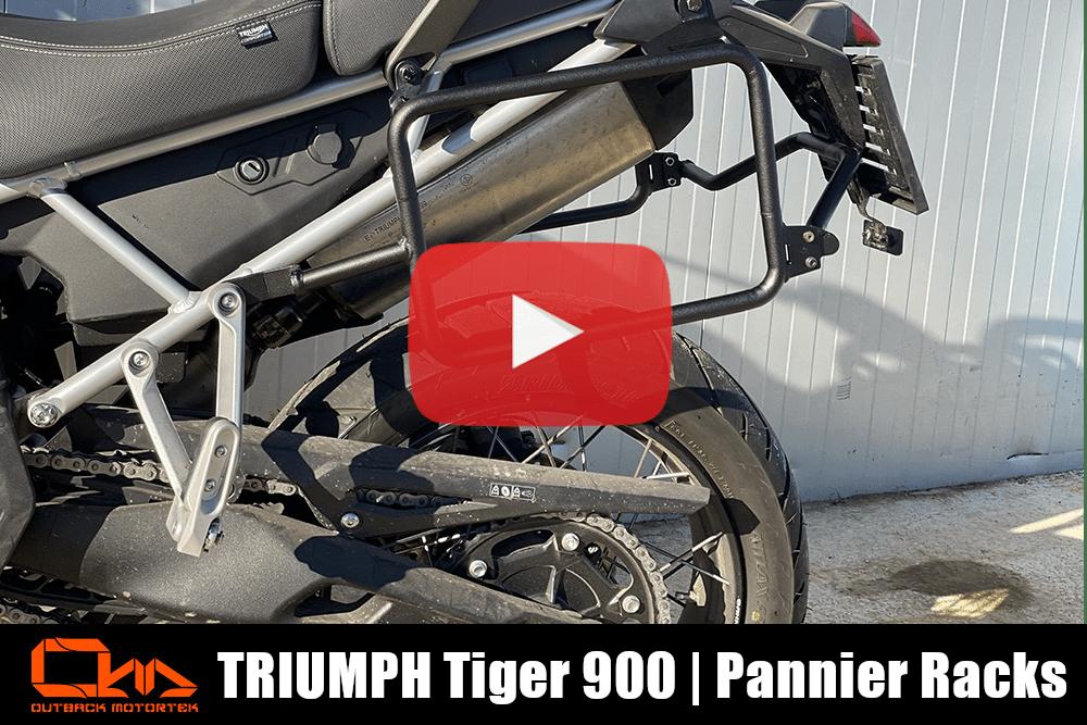 Triumph Tiger 900 Pannier Racks Installation