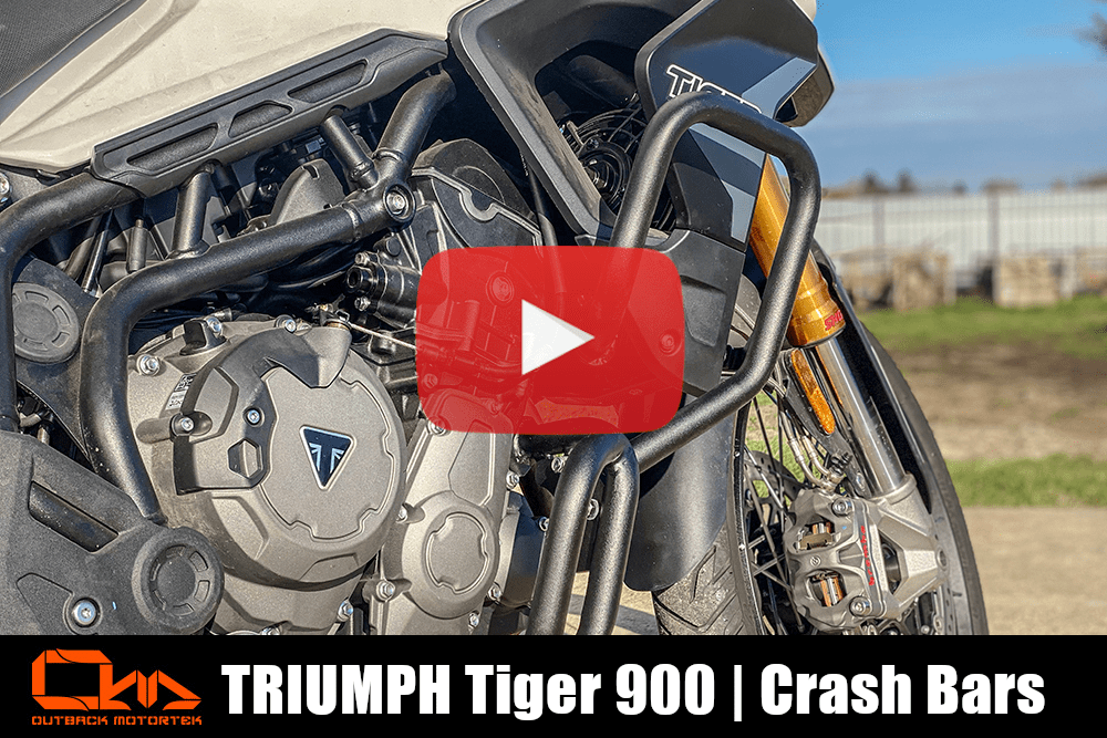 Triumph Tiger 900 Crash Bars Installation