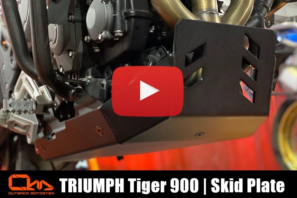 Triumph Tiger 900 Skid Plate Installation