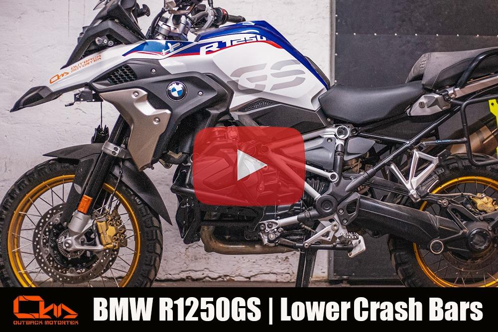 BMW R1250GS Lower Crash Bars