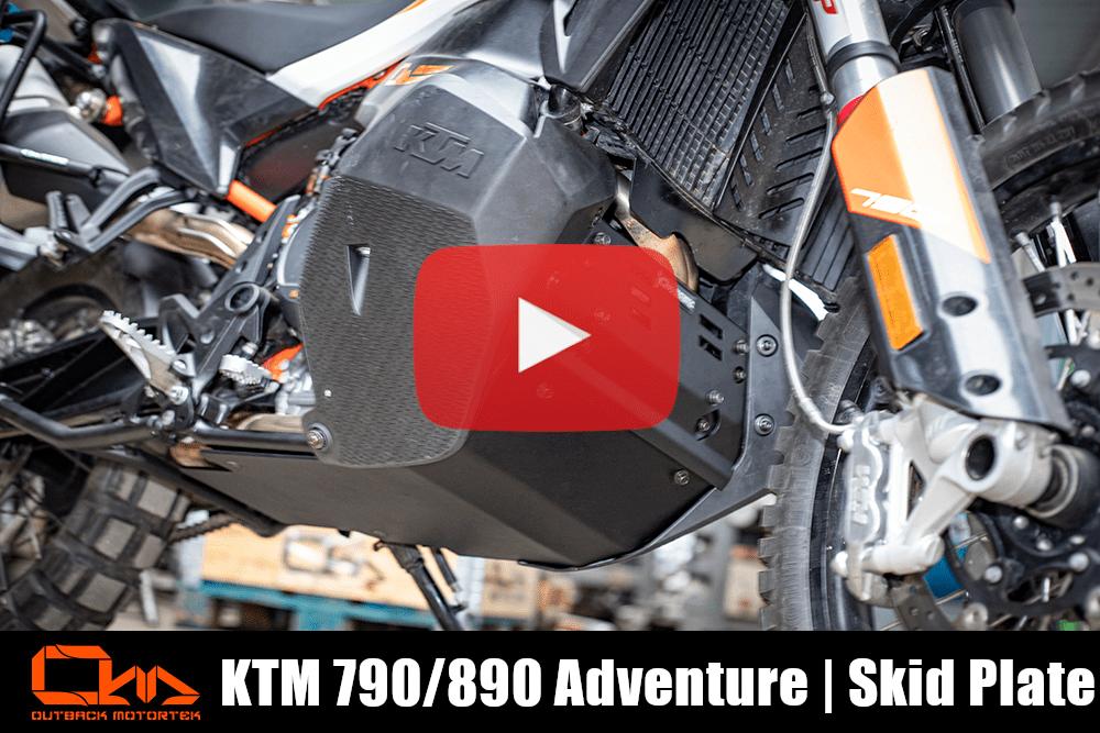 KTM 790/890 Adventure R / S Skid Plate Installation