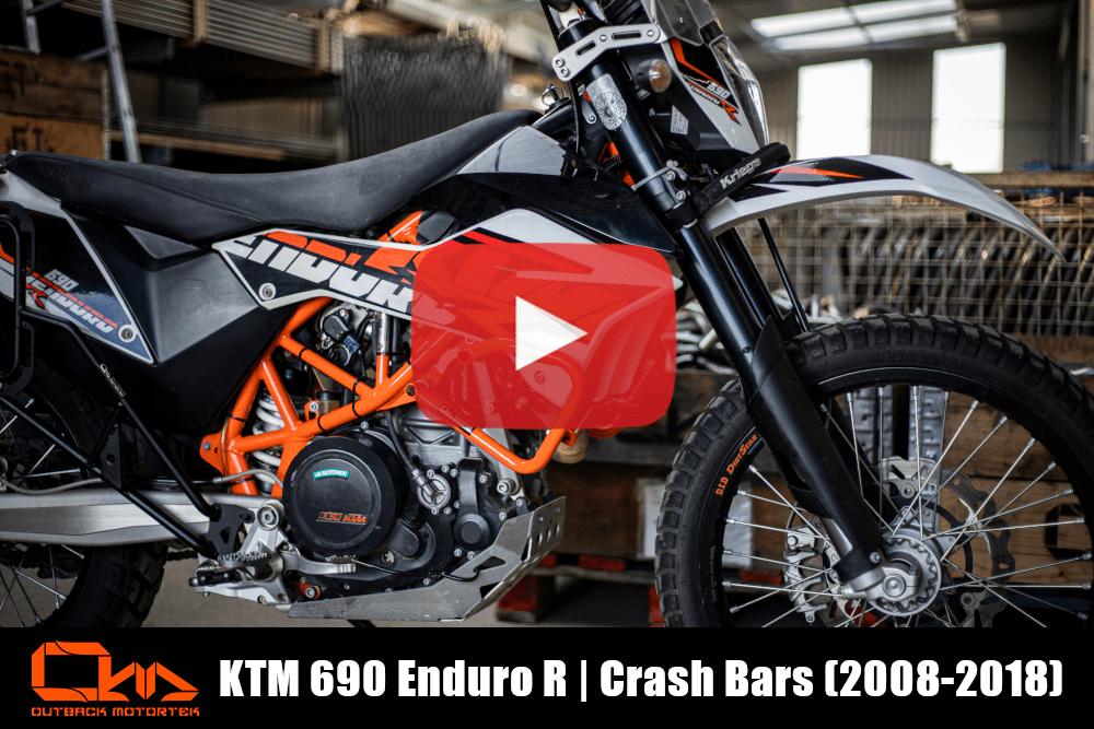 KTM 690 Enduro R Crash Bars 2008-2018 Installation