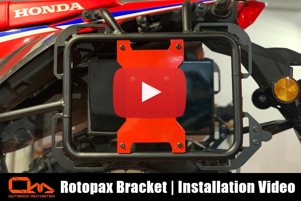 Rotopax Bracket Installation